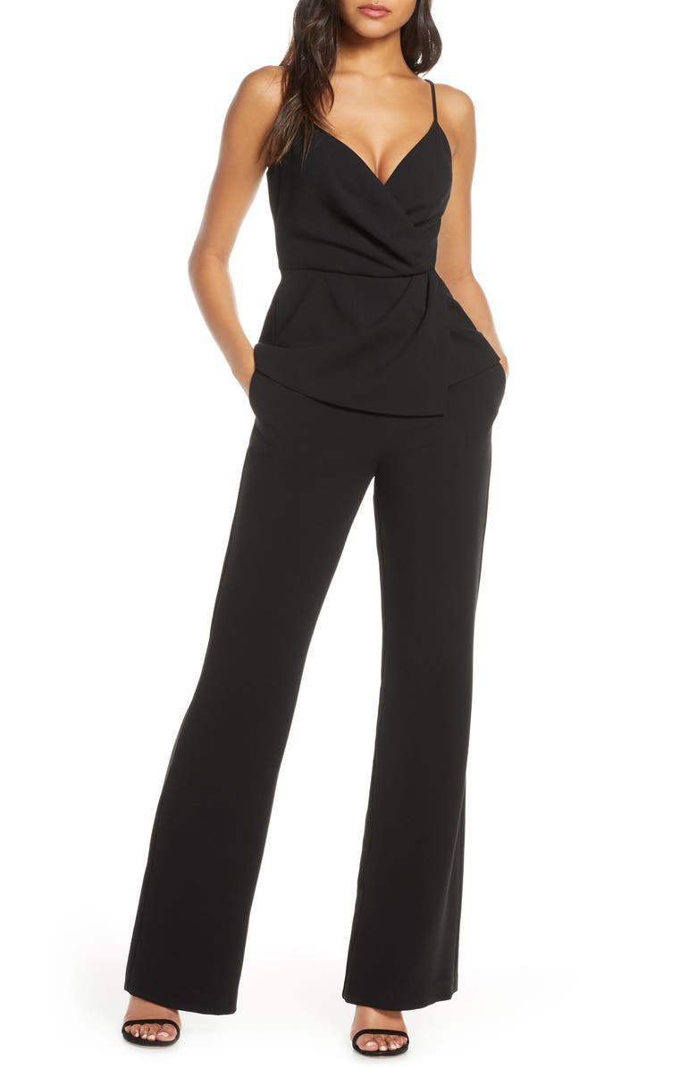 BLACK HALO Raja Two-Piece Jumpsuit, Main, color, 001