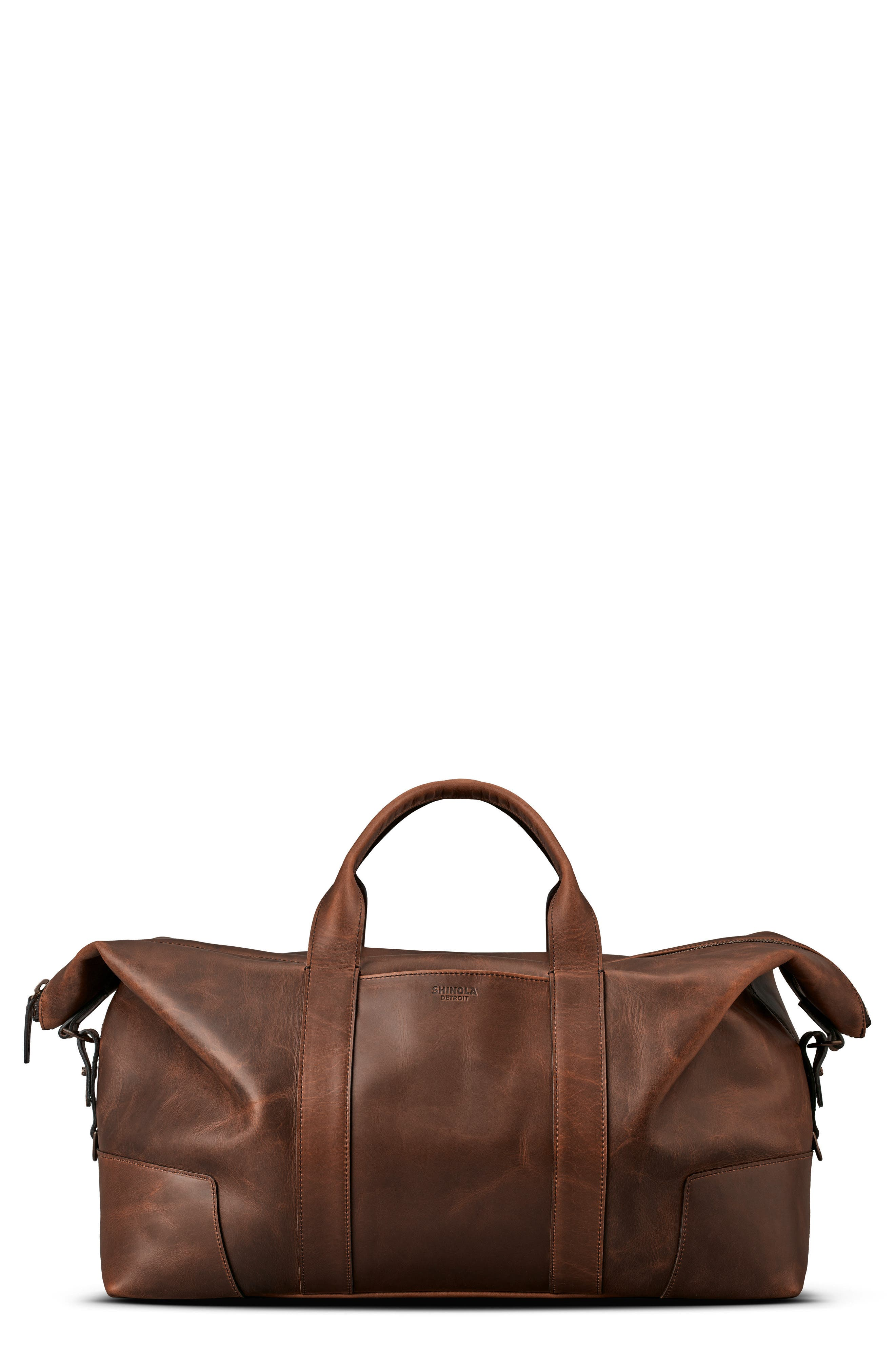 Madone Leather Carryall Bag