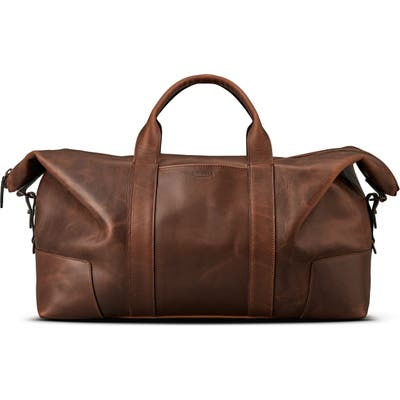 Shinola Madone Leather Carryall Bag -