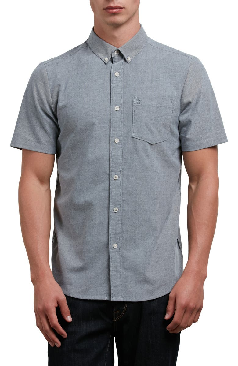 VOLCOM Everett Oxford Shirt, Main, color, 001