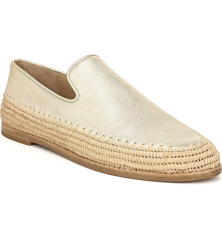 VINCE Jalen Espadrille Loafer, Main, color, GOLD