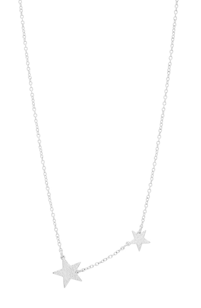 GORJANA Super Star Pendant Necklace, Main, color, SILVER