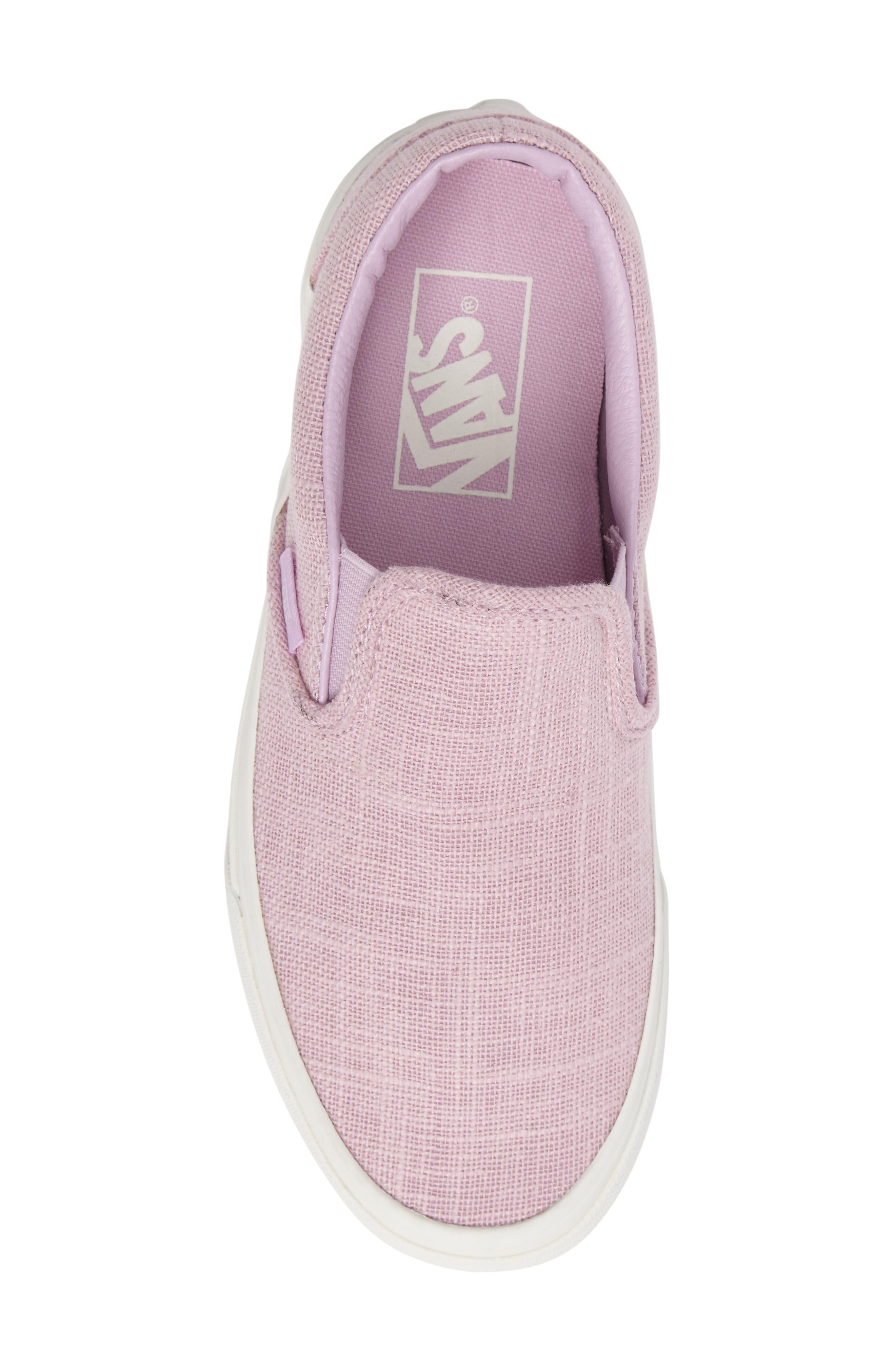 ,                             Classic Slip-On Sneaker,                             Alternate thumbnail 386, color,                             650