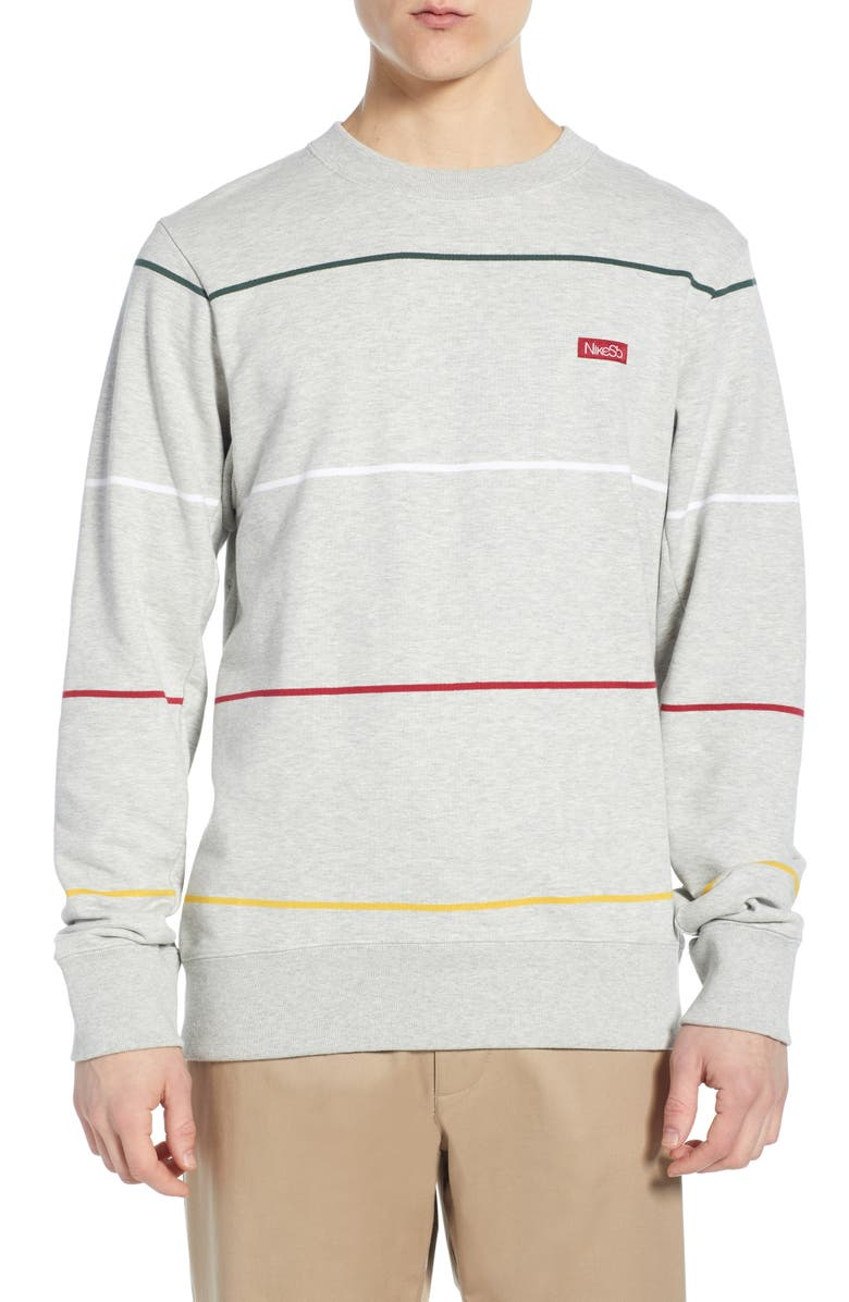 Nike SB Everett Long Sleeve Striped Sweatshirt | Nordstrom