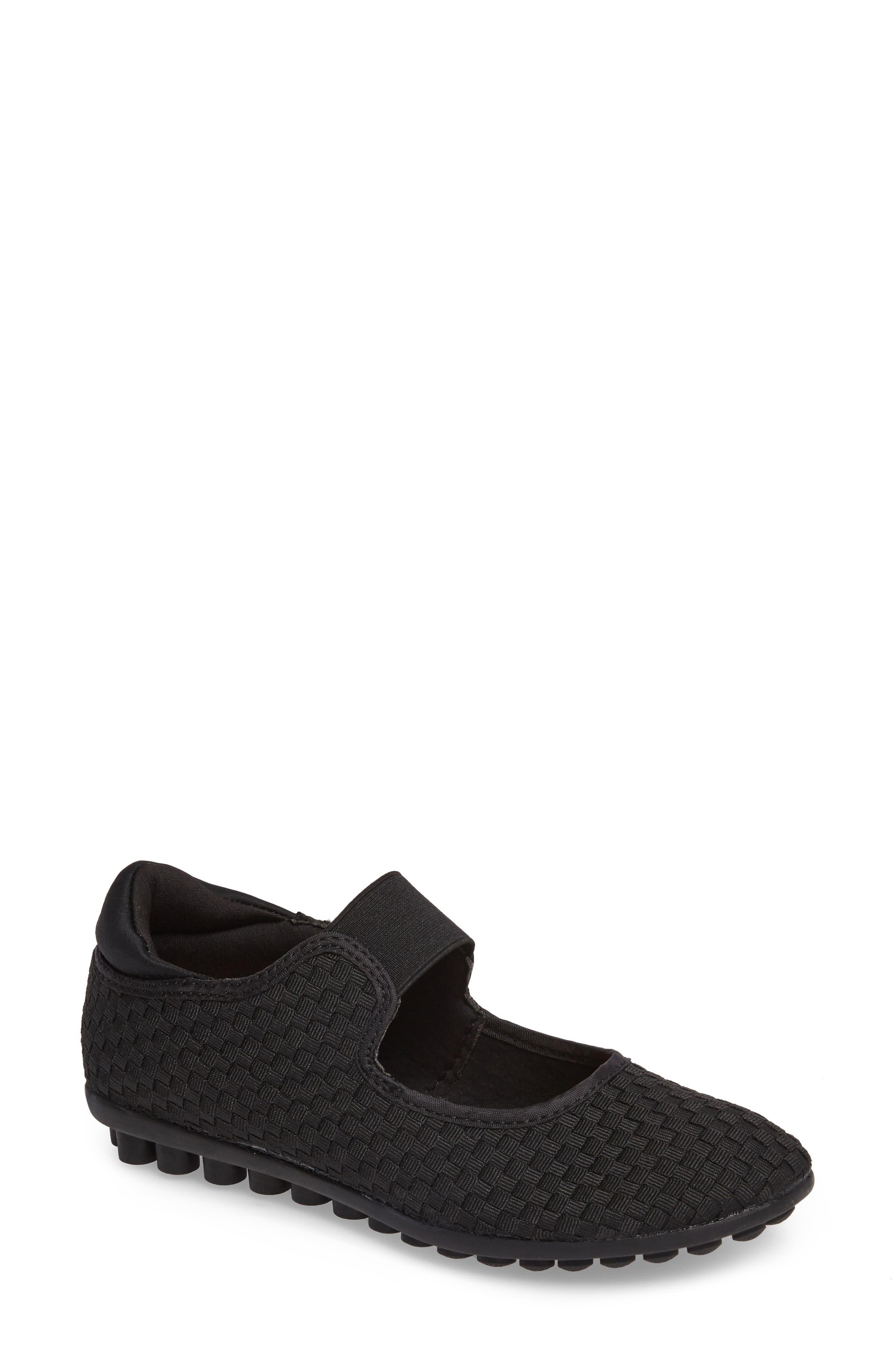 Bernie Mev Kendra Mary Jane Sneaker, Black