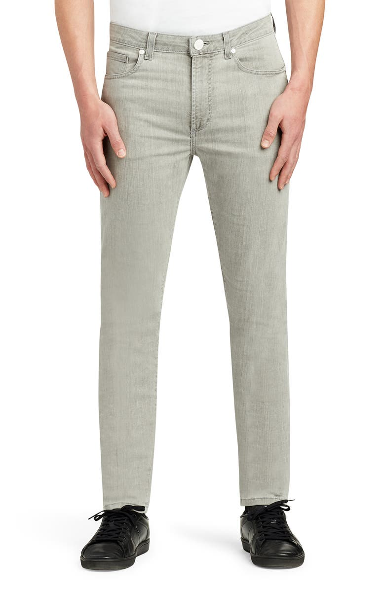 MONFRÈRE Greyson Skinny Fit Jeans, Main, color, STONE