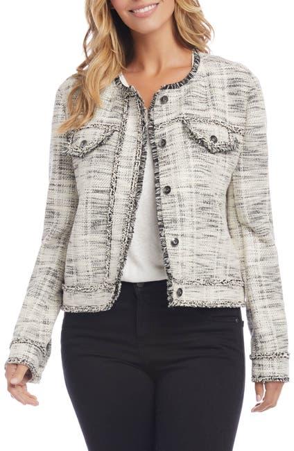 Image of Karen Kane Fringe Detail Jacket