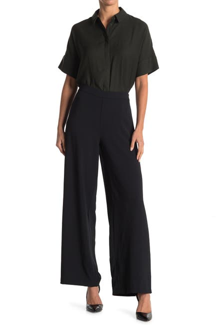 H HALSTON Wide Leg Pants