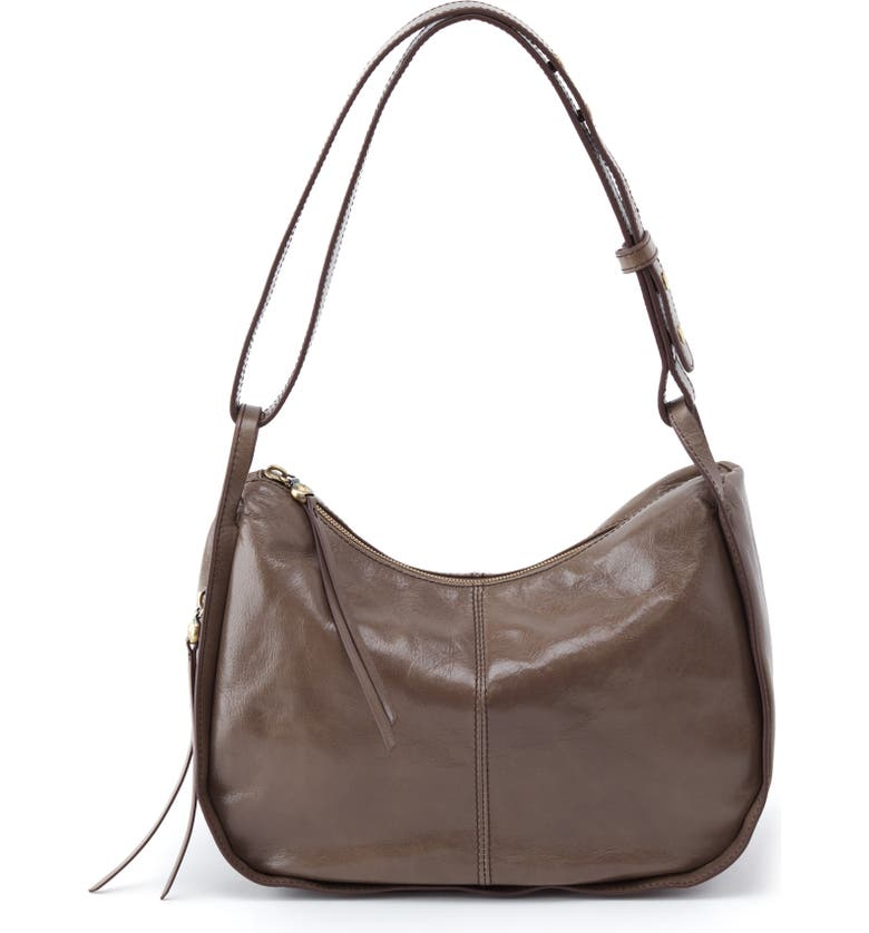 HOBO Arlet Leather Hobo, Main, color, SHADOW