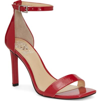 Vince Camuto Lauralie Ankle Strap Sandal, Red