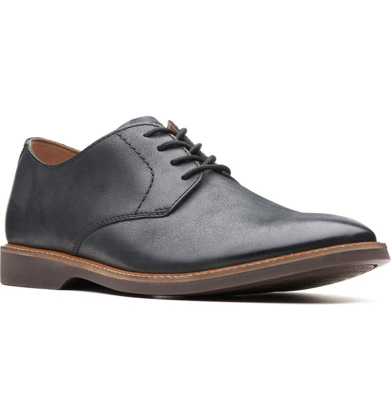CLARKS<SUP>®</SUP> Atticus Plain Toe Derby, Main, color, 003