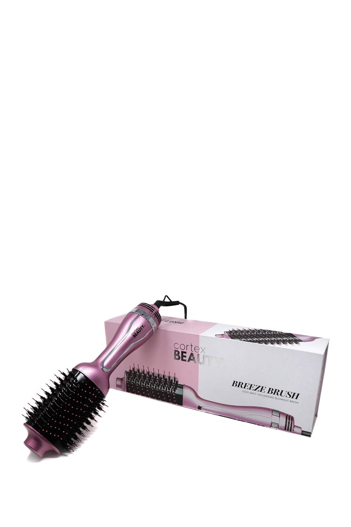 Image of Cortex USA Cortex Beauty Breeze Brush | 1200W Hair Dryer Brush - Blush Pink
