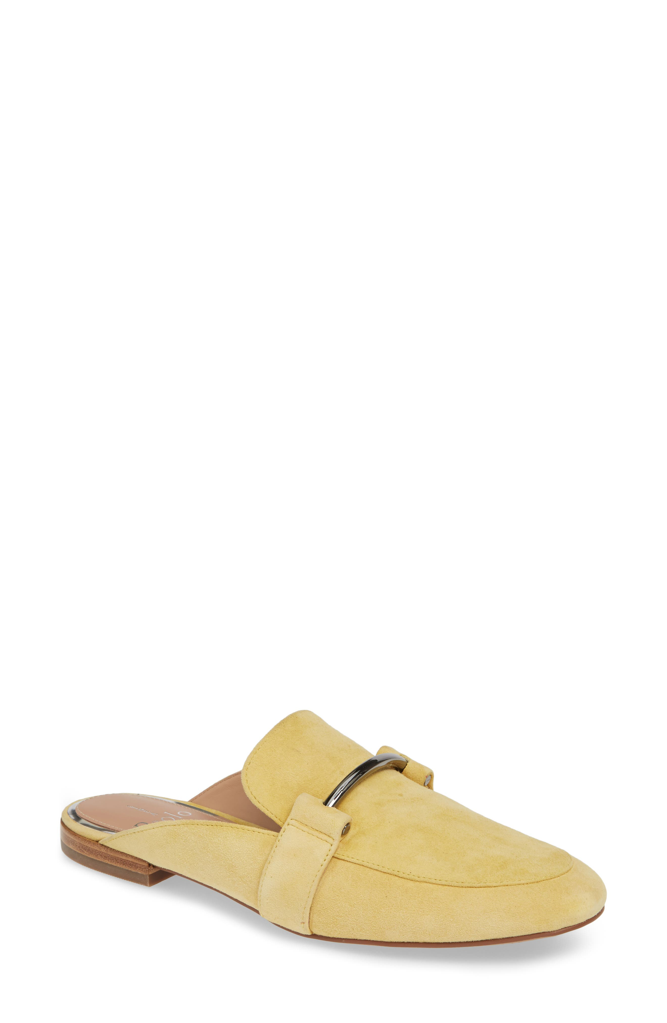 Linea Paolo Annette Loafer Mule, Yellow