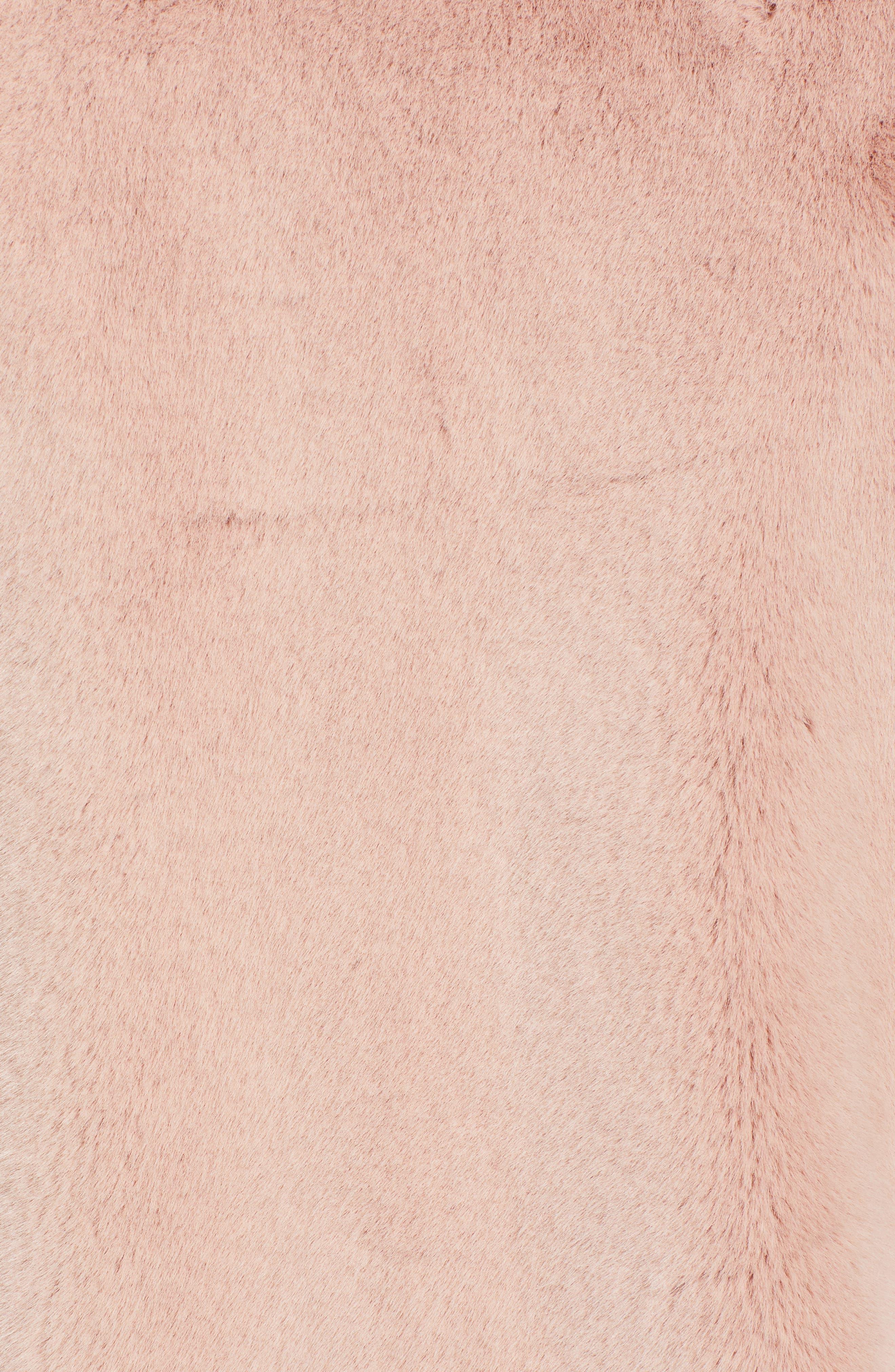 ,                             Luna Faux Fur Jacket,                             Alternate thumbnail 6, color,                             650