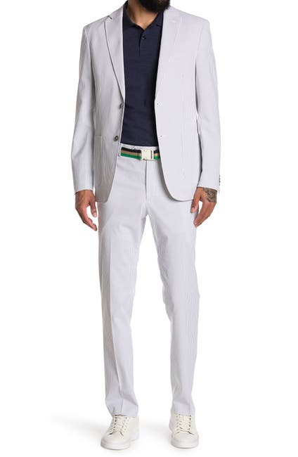 Image of Tommy Hilfiger Washable Seersucker Suit