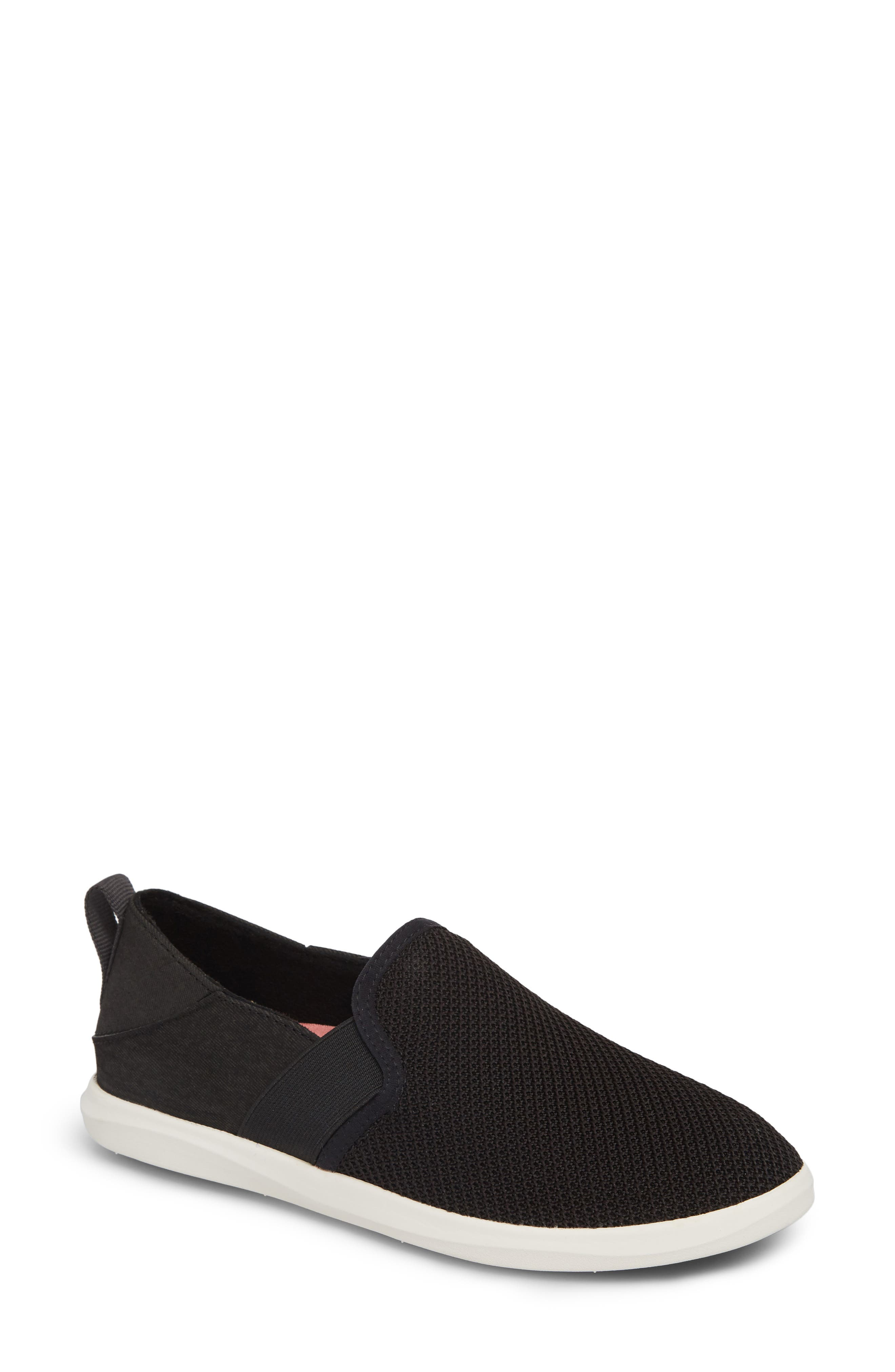 Olukai Haleiwa Pai Sneaker, Black
