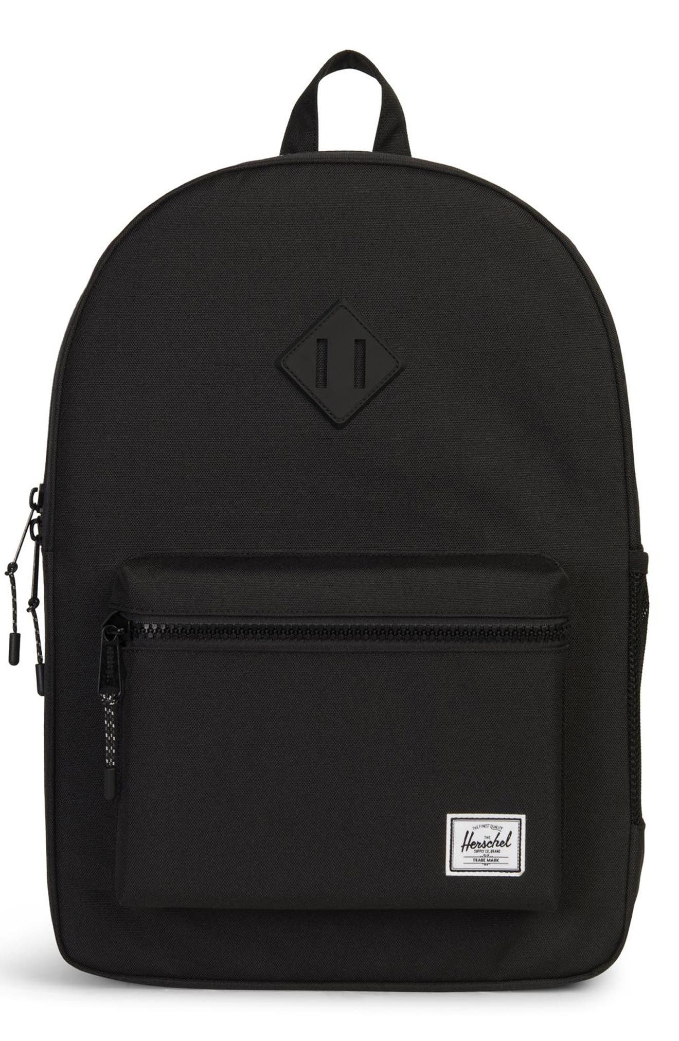 Girls Herschel Supply Co Extra Large Heritage Backpack  Black