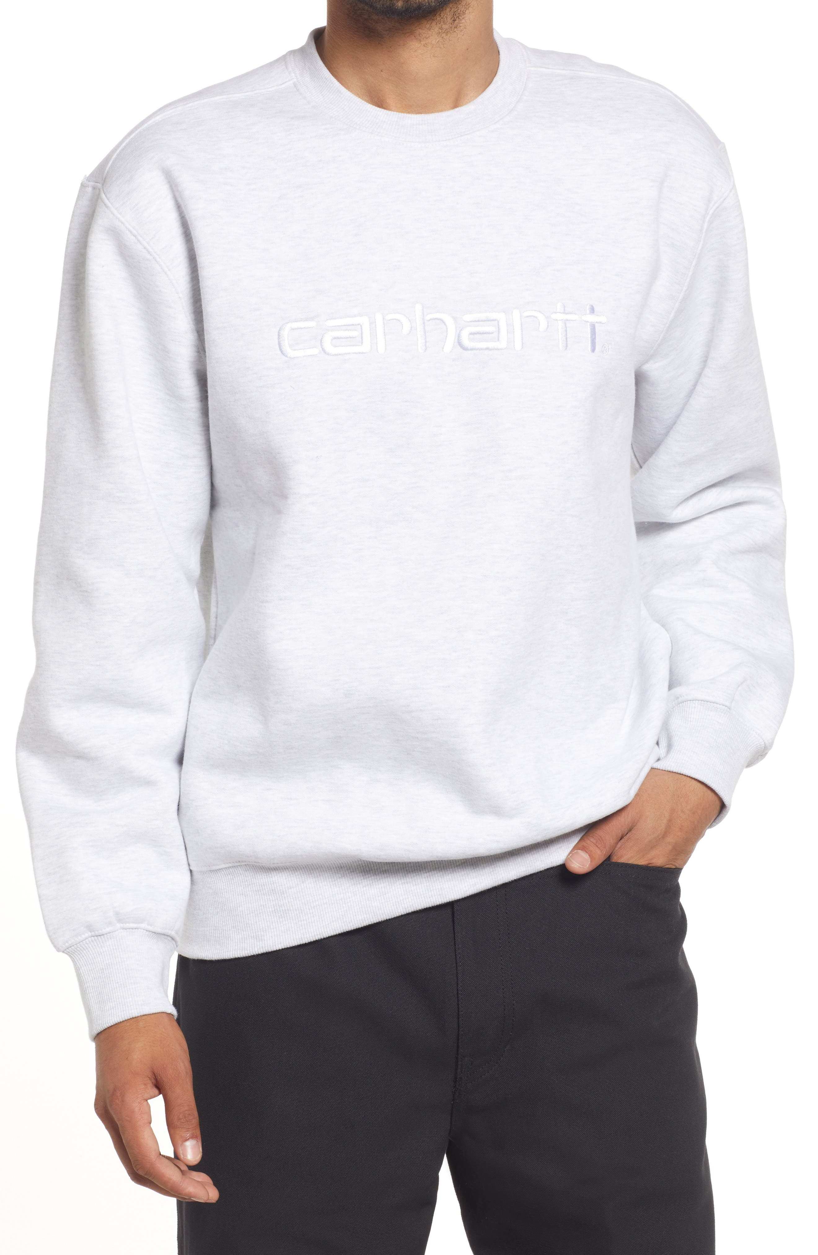 Men's Cotton Blend Crewneck Sweatshirt