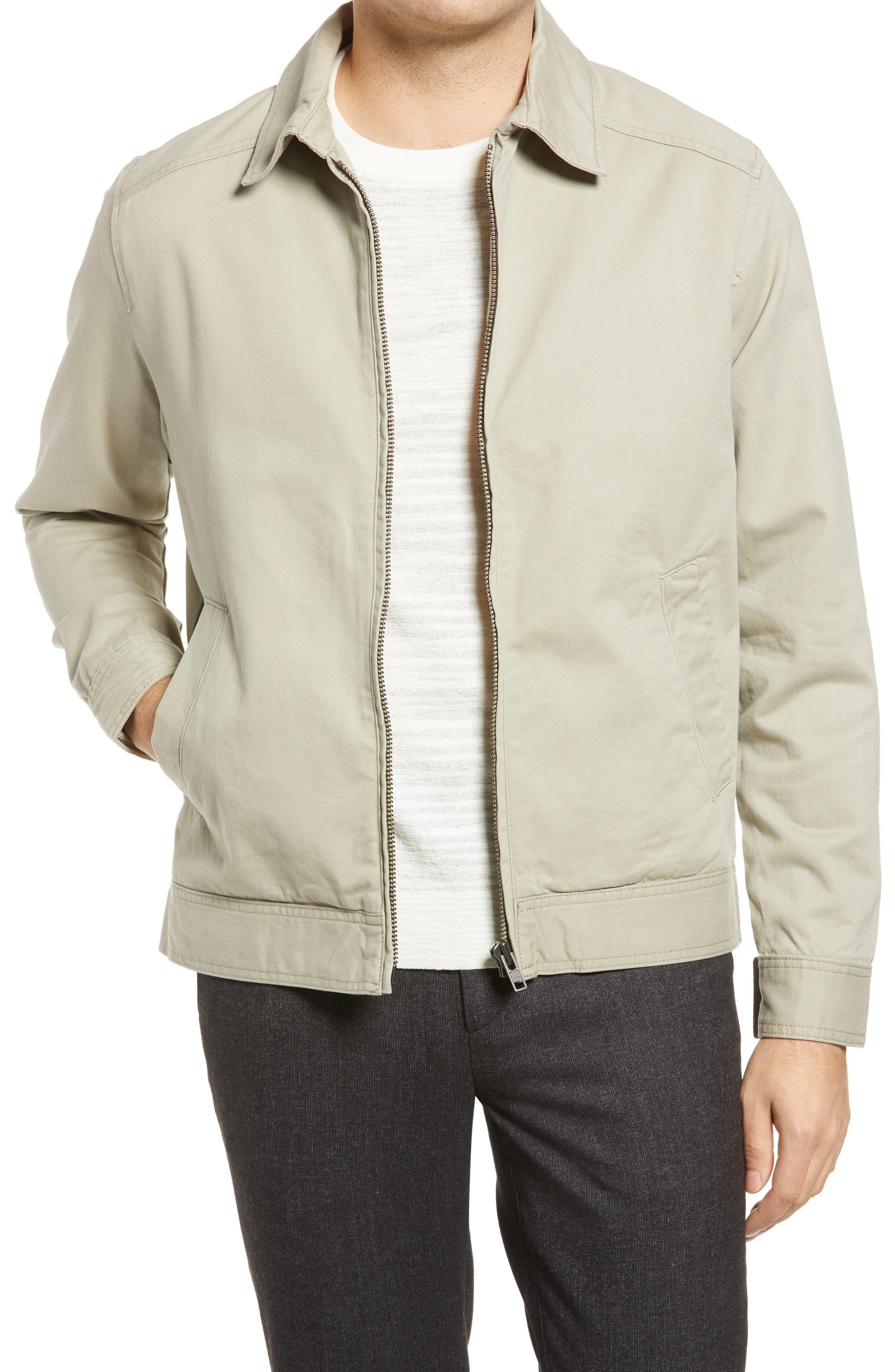 50s Men's Jackets | Greaser Jackets, Leather, Bomber, Gabardine Mens Rodd  Hunn Mount Aspiring Cotton Jacket Size Small - Grey $99.50 AT vintagedancer.com