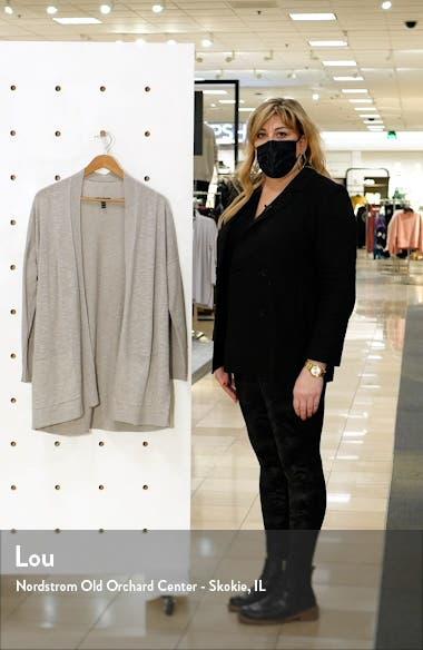Organic Linen & Organic Cotton Cardigan, sales video thumbnail