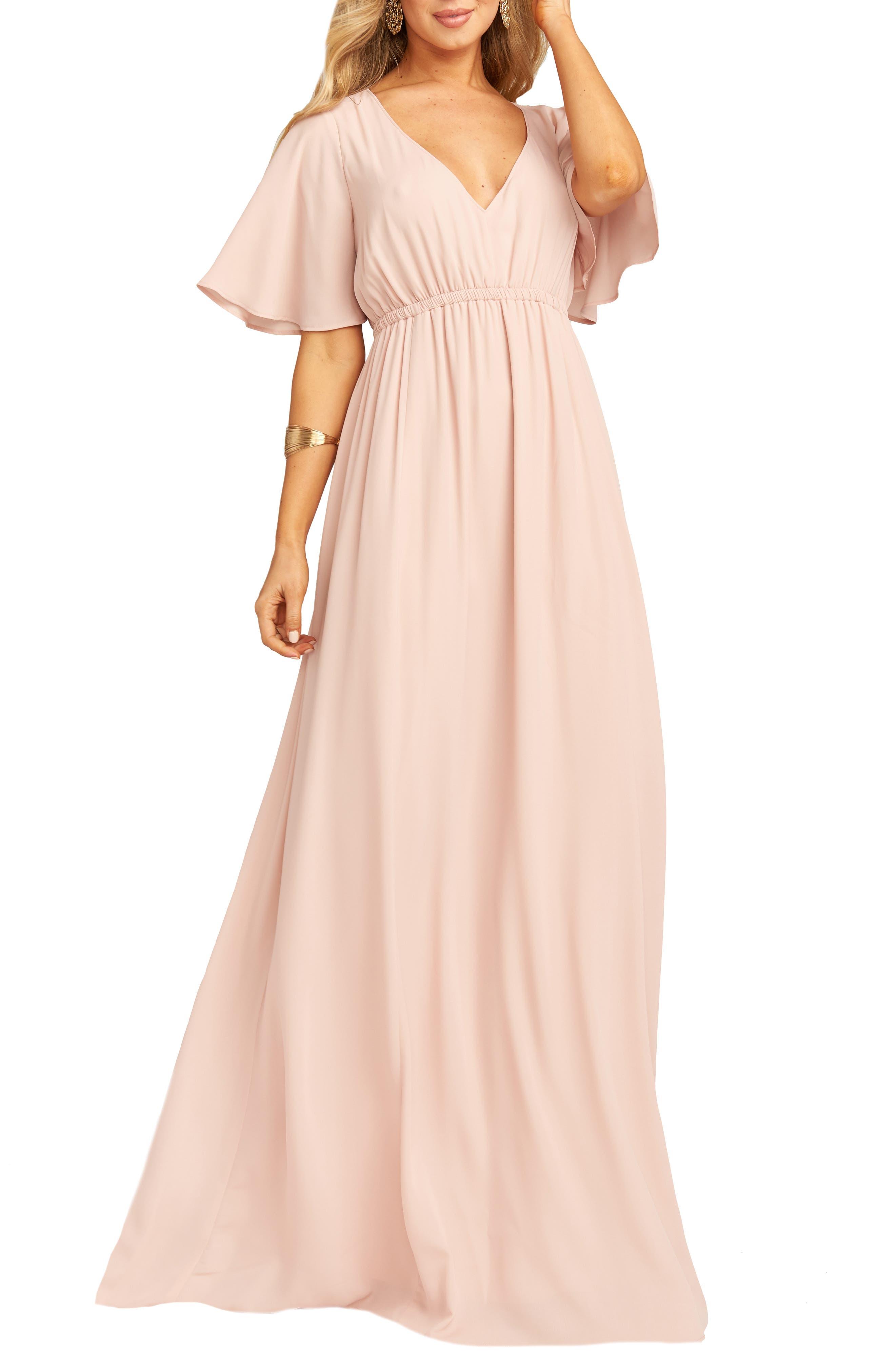 Show Me Your Mumu Emily Maxi Dress, Pink