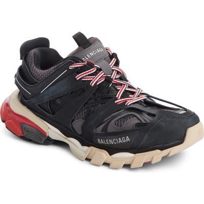 Balenciaga Track Low Top Sneaker, Black