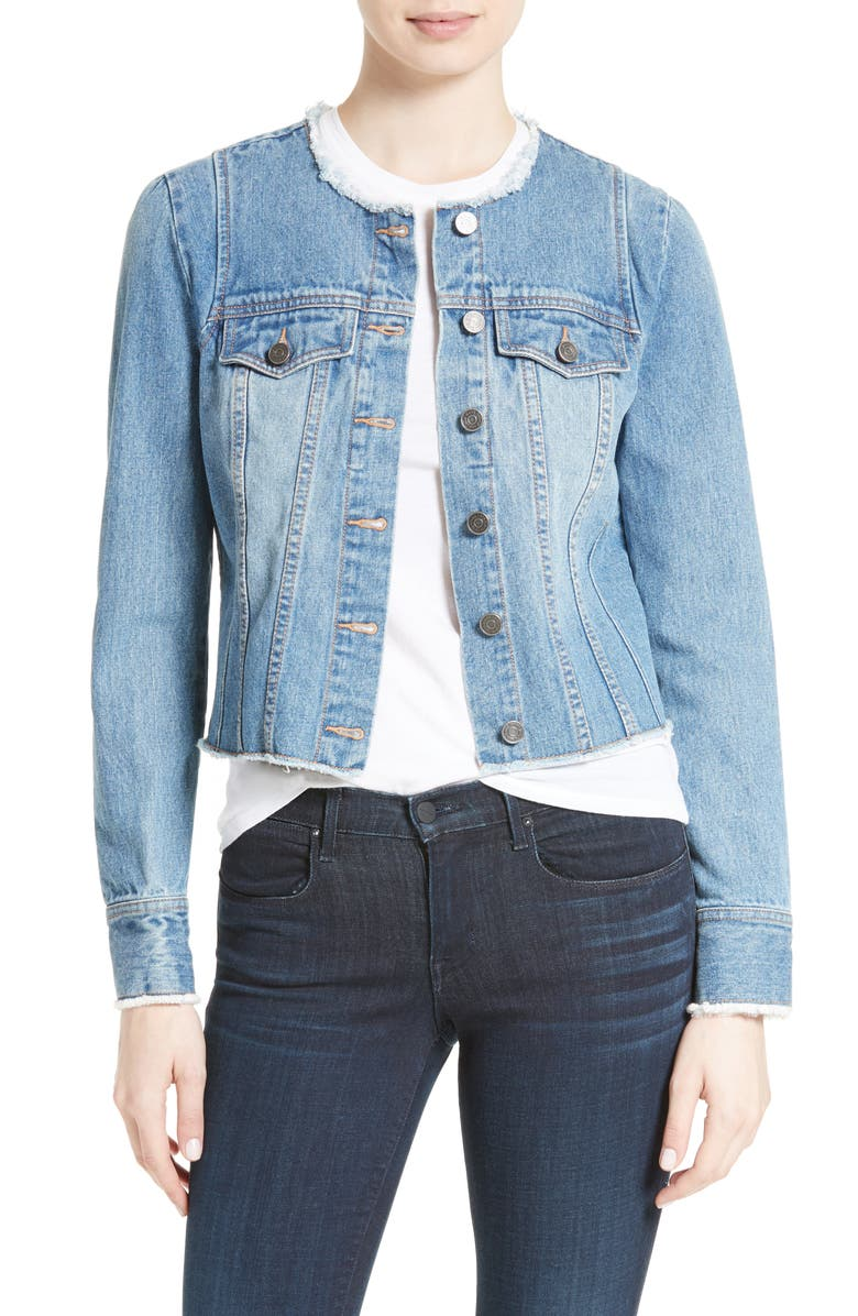 JOIE Cranham Denim Jacket, Main, color, 472
