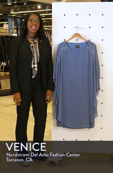 Beaded Chiffon Overlay Dress, sales video thumbnail