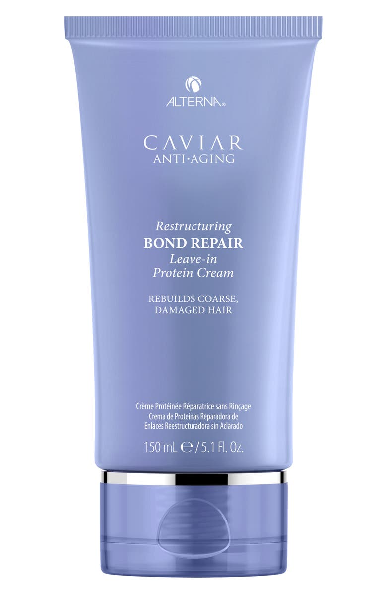 ALTERNA<SUP>®</SUP> Caviar Anti-Aging Resturcuring Bond Repair Leave-in Protein Cream, Main, color, NO COLOR