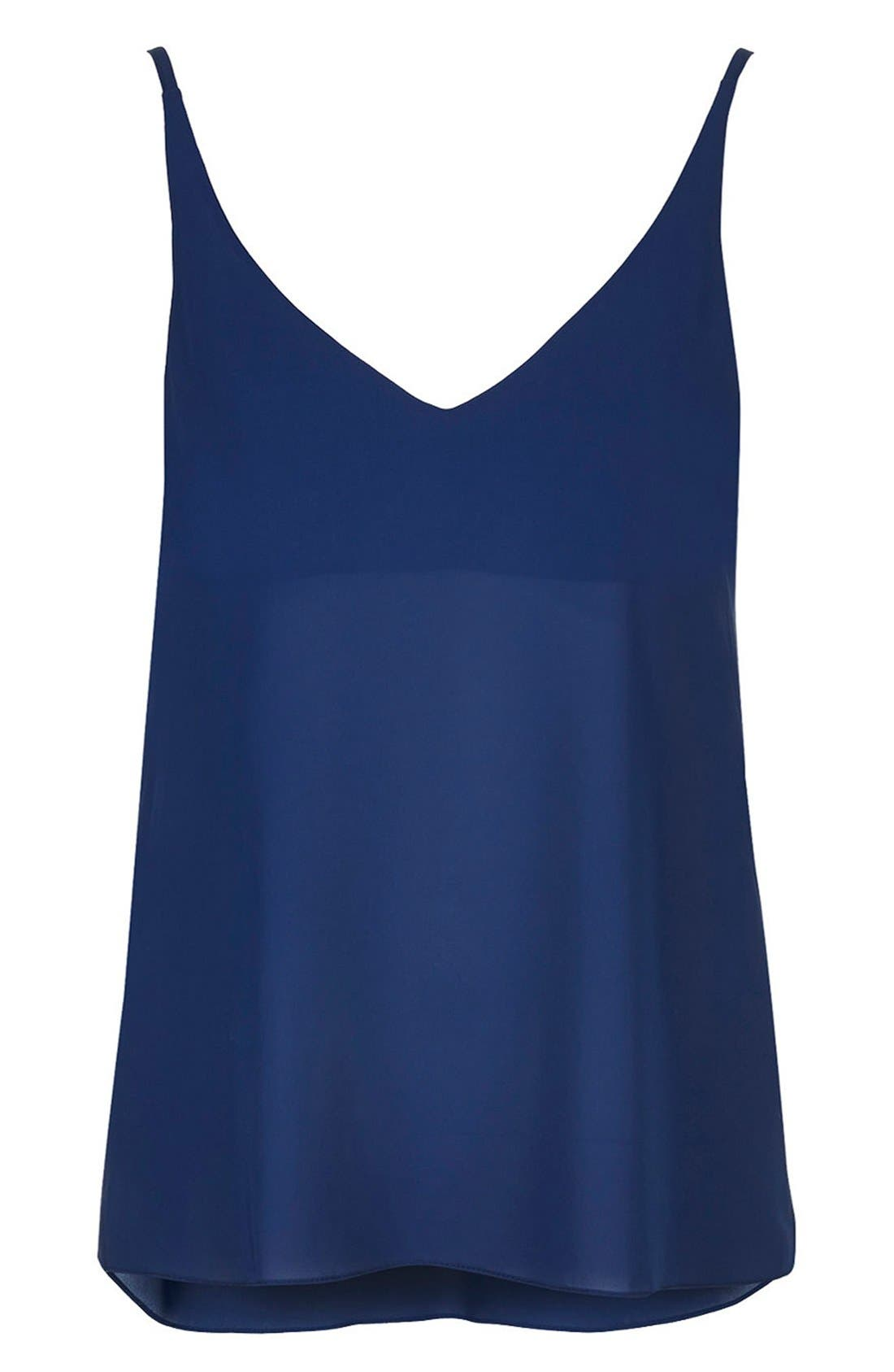 ,                             Strappy V-Neck Camisole,                             Alternate thumbnail 22, color,                             410