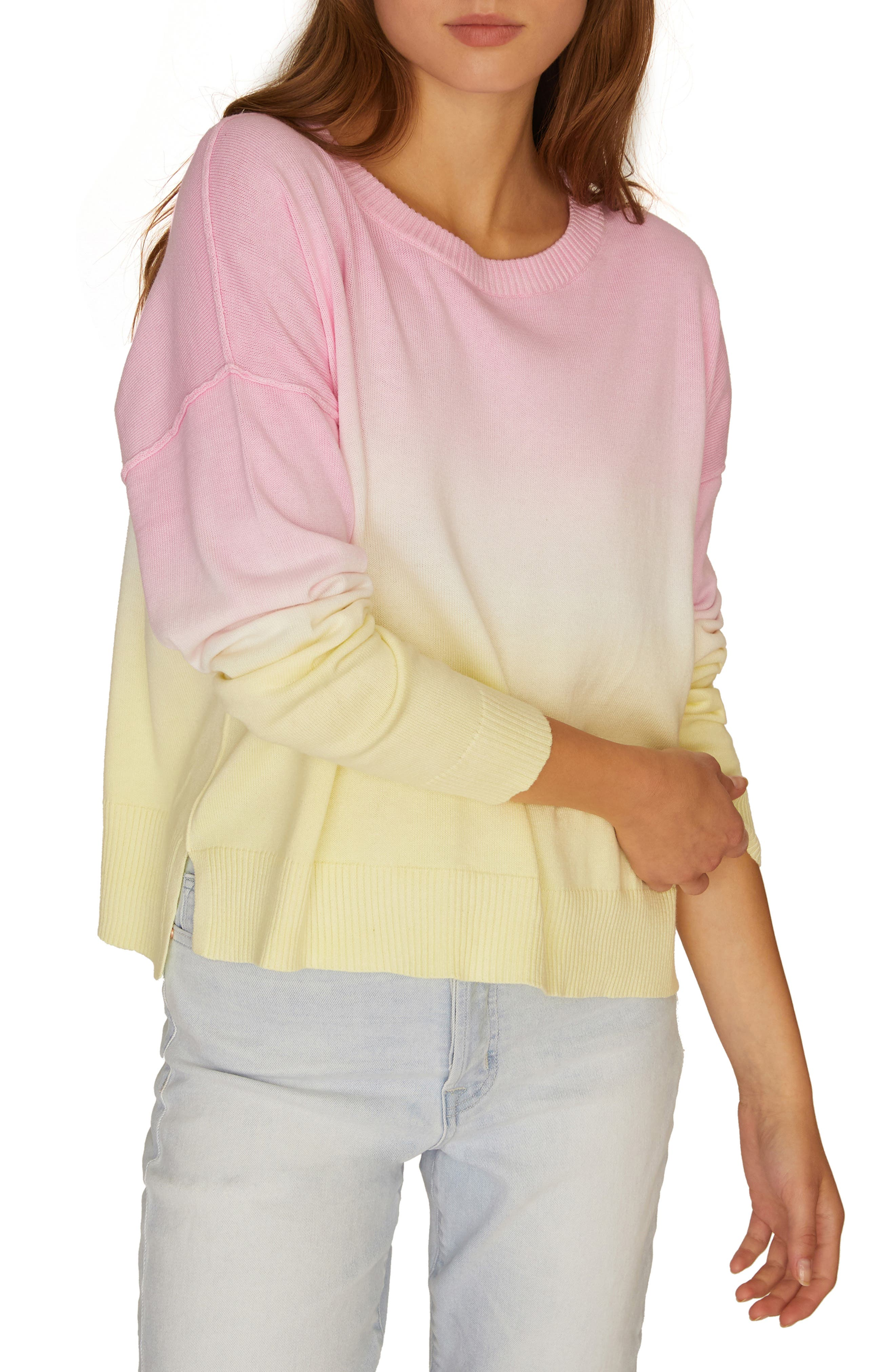 Sunsetter Ombré Sweater, Main, color, 700