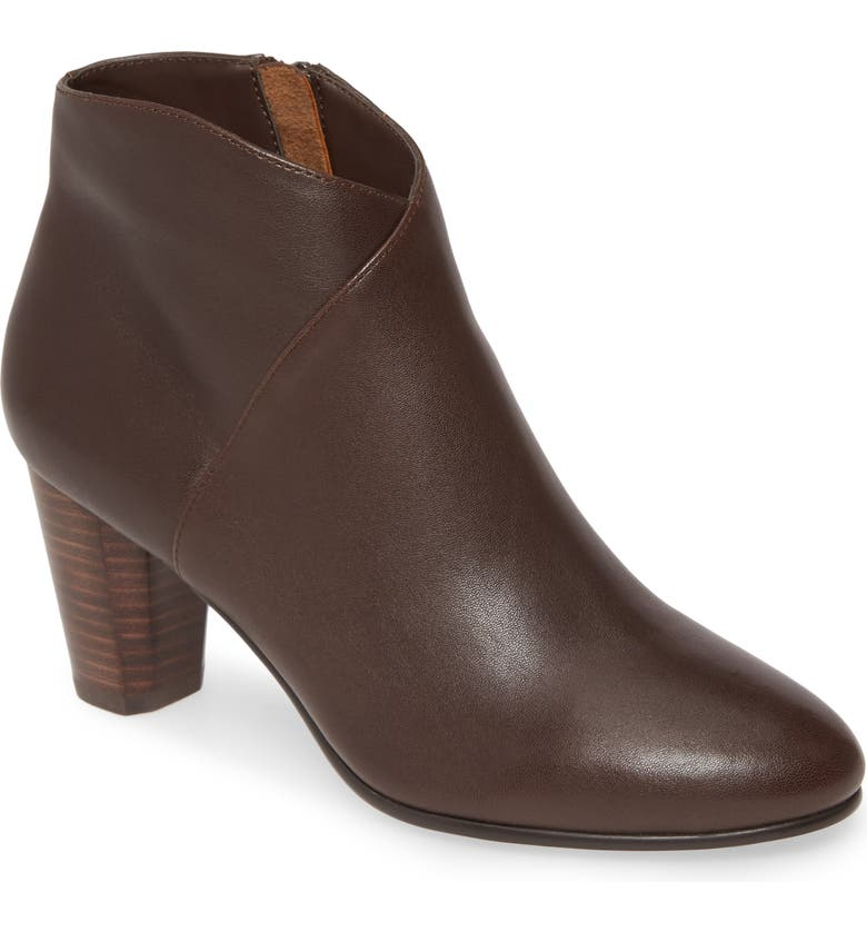 DAVID TATE Rocco Bootie, Main, color, BROWN LEATHER