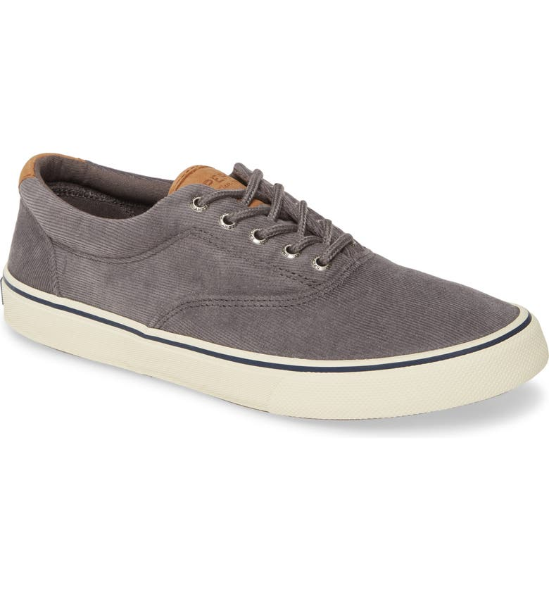 SPERRY Striper II CVO Sneaker, Main, color, GREY CORDUROY