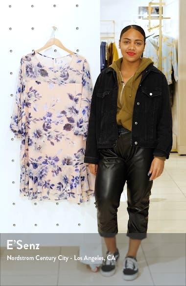 Floral Chiffon Flounce Dress, sales video thumbnail