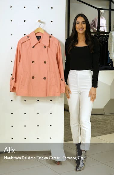 Double Breasted Crop Jacket, sales video thumbnail