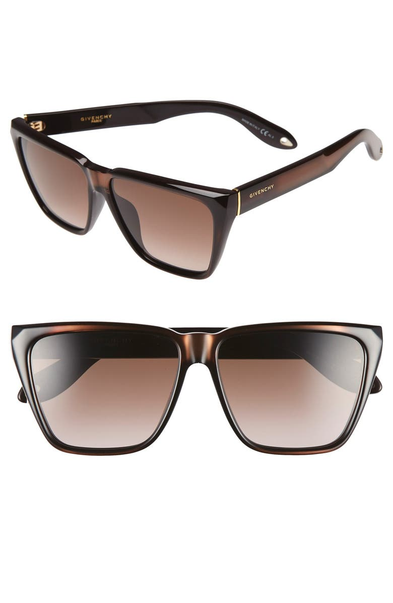 GIVENCHY 7002/S 58mm Sunglasses, Main, color, 201