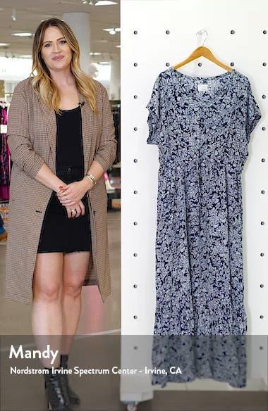 Tie Waist Ruffle Hem Maxi Dress, sales video thumbnail