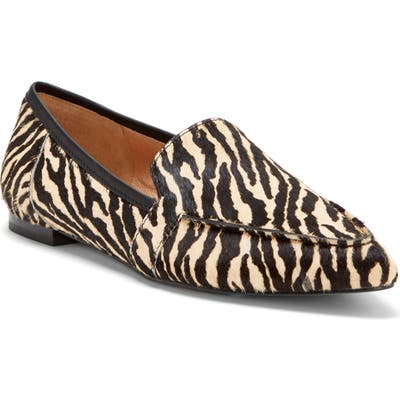 Cc Corso Como Jatiba Genuine Calf Hair Loafer, Beige