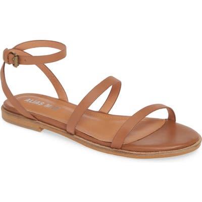 Alias Mae Theta Ankle Strap Flat Sandal, Beige