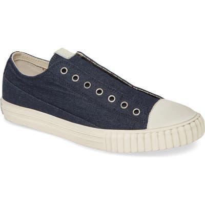 John Varvatos Star Usa Denim Sneaker, Blue