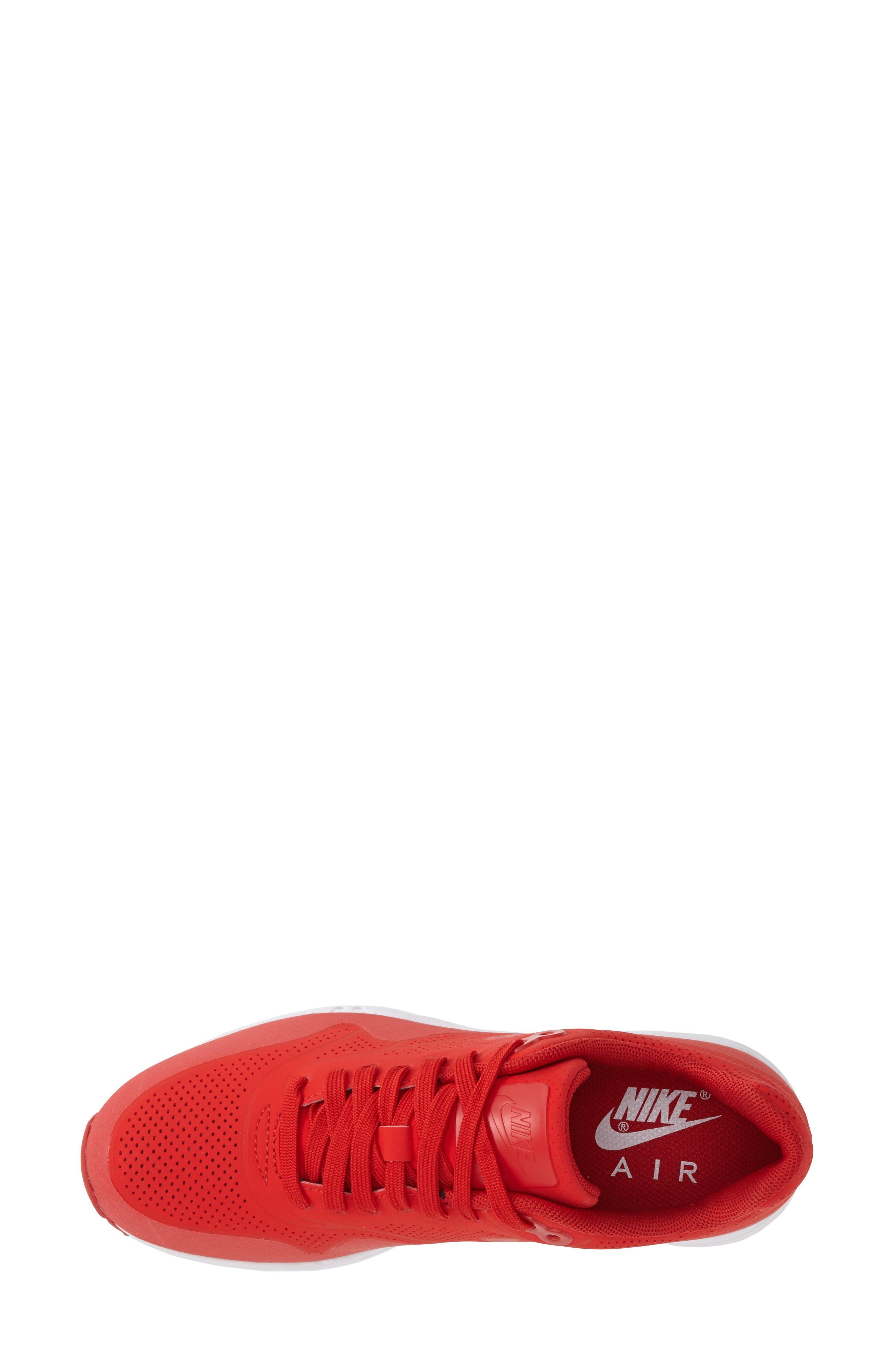 ,                             'Air Max 1 - Ultra Moire' Sneaker,                             Alternate thumbnail 100, color,                             600