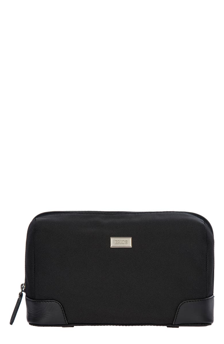 BRIC'S Monza Dopp Kit, Main, color, BLACK/ BLACK