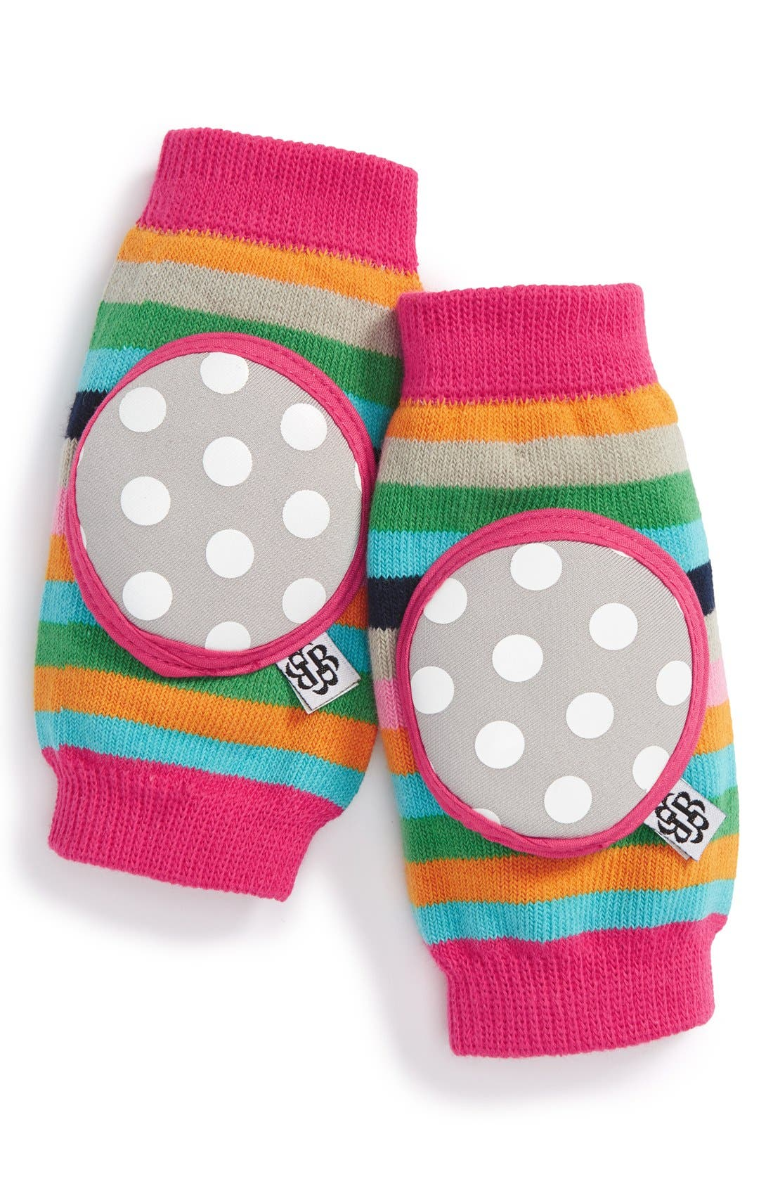 New Up,Up and Away Pink Bella Tunno Happy Knees Crawler Kneepads