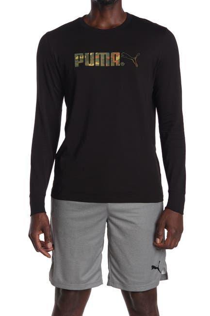 Image of PUMA Classic Graphic Long Sleeve Tee