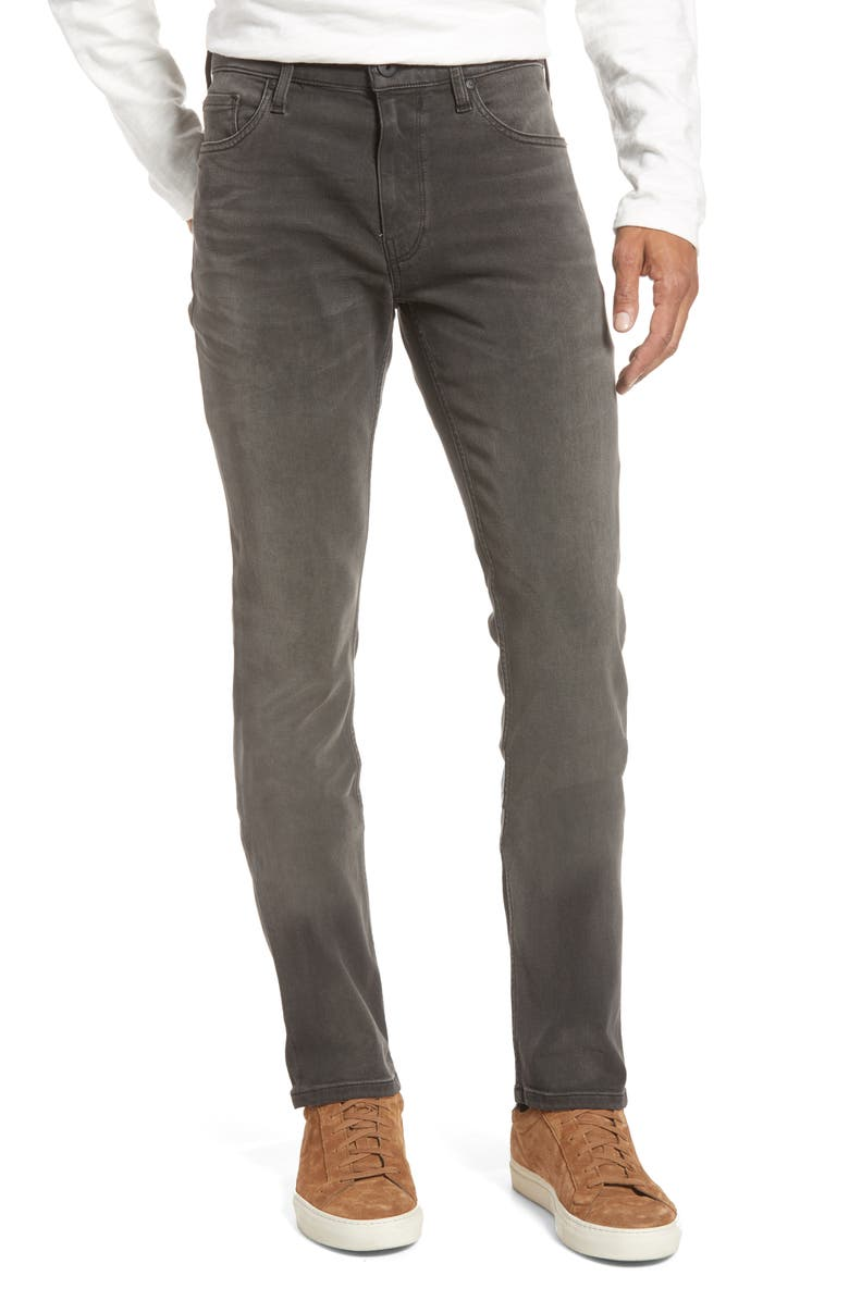 PAIGE Transcend Federal Slim Straight Leg Jeans, Main, color, 001