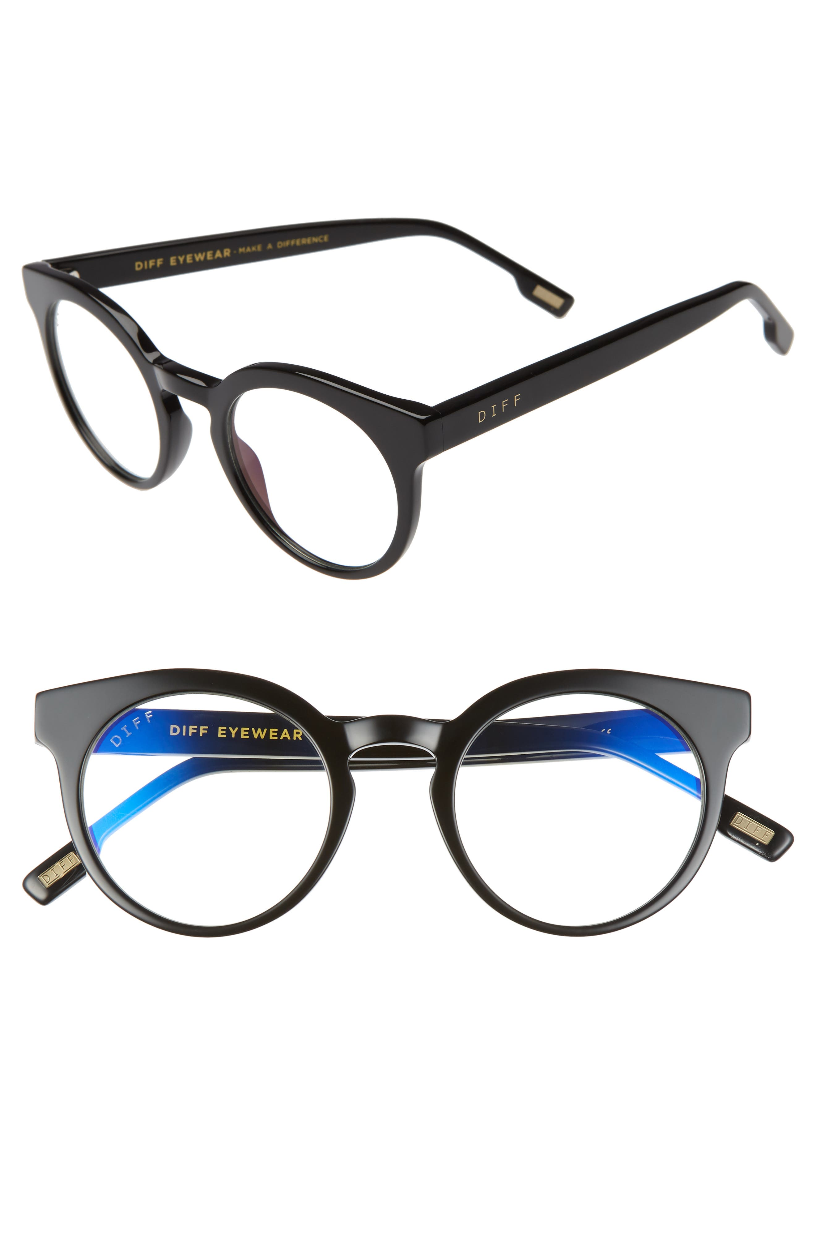 Selena 47mm Blue Light Blocking Optical Glasses