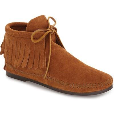 Minnetonka Classic Fringed Chukka Style Boot