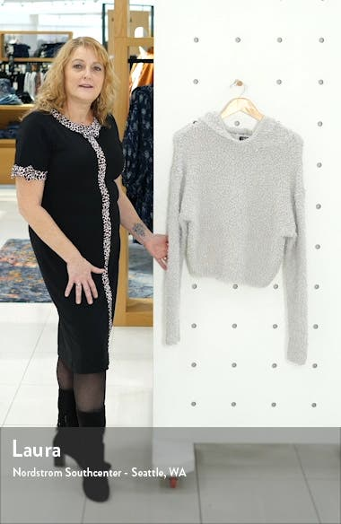Posey Textured Hooded Sweater, sales video thumbnail