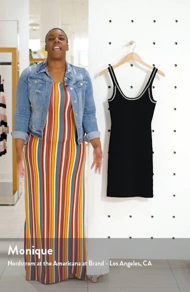 Chain Detail Knit Tank Dress, sales video thumbnail
