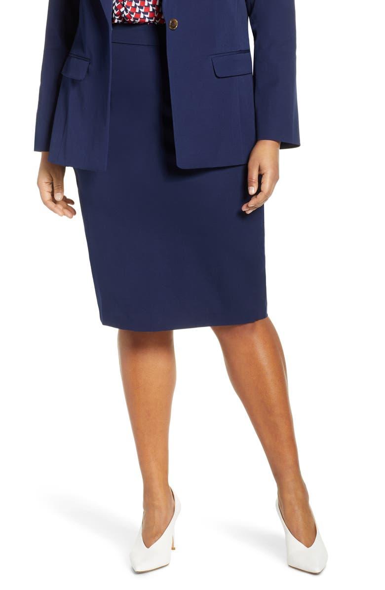 ELOQUII Stretch Pencil Skirt (Plus Size) | Nordstrom